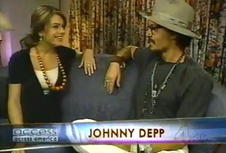 有名人の英語動画を使った無料英語学習:Johnny Depp: ジョニー・デップのインタビュー