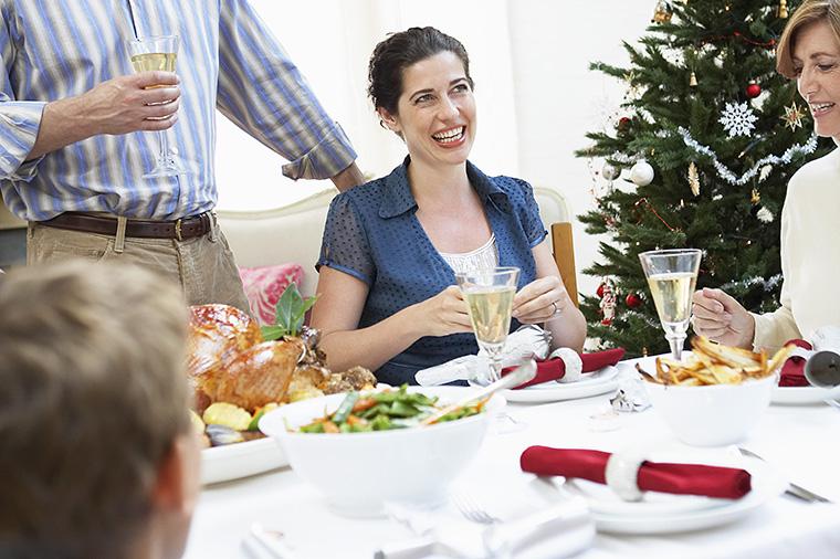 クリスマスパーティーの食事の違い(パーティー料理の違い)