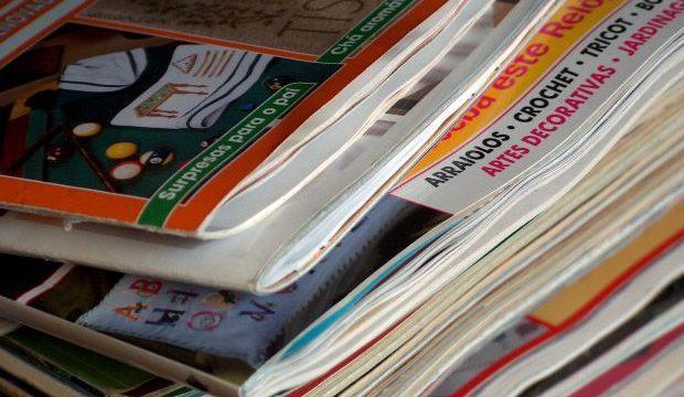 リーディング学習に若者向け雑誌