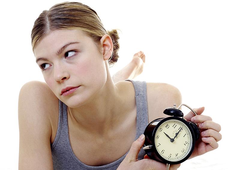 「時差ボケ」という意味になる「circadian dysrhythmia」の使い方