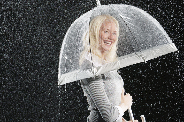 rain, rainy, rainingの間違った使い方