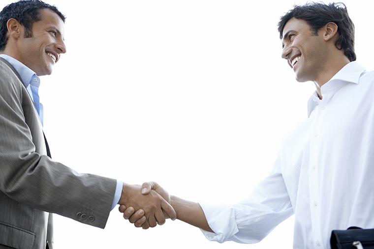 ビジネスの取引という意味になる「deal」