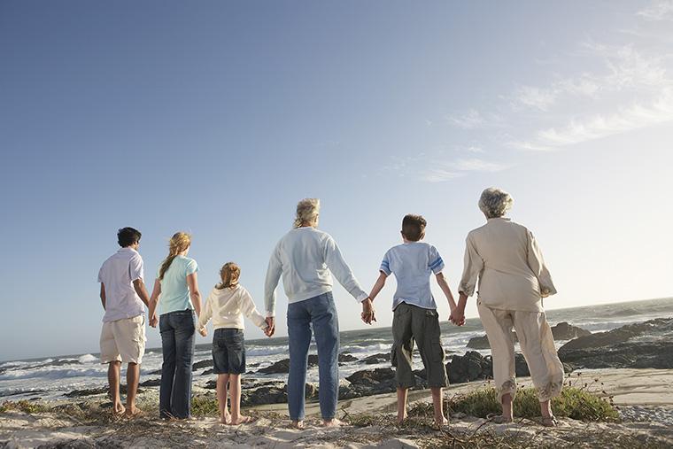 「家族の関係者」=「親戚」という意味の英語 relation